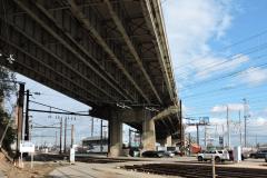 November 2018 - The viaduct over SEPTA's Wayne Junction.