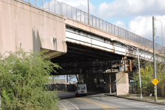 November 2018 - The viaduct passing over Roberts Street.