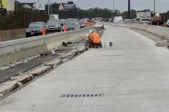 September 2020 - The contractor finishes structural repairs to the center area of the viaduct.