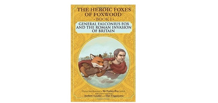Feature Image - The heroic foxes of Foxwood by Andrew Lauder
