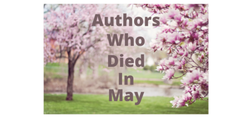 Feature Image - Authors Who Died In May