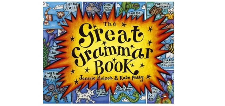 Feature Image - The Great Grammar Book by Kate Petty