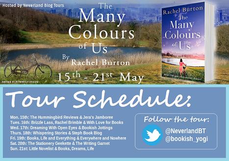 The Many Colours of Us by Rachel Burton tour schedule