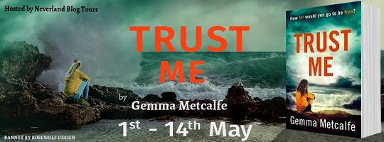 Trust Me by Gemma Metcalfe tour poster