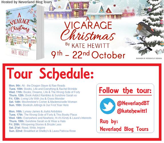 A vicarage christmas tour banner