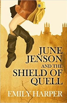 June Jenson and the shield of Quell by Emily Harper