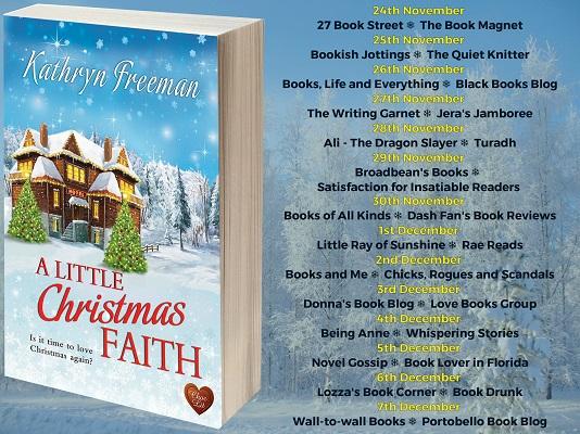 A Little Christmas Faith Full Tour Banner
