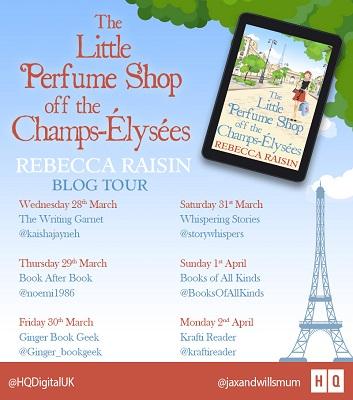 Little Perfume Shop Tour Poster