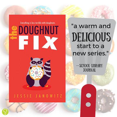 The doughnut fix poster