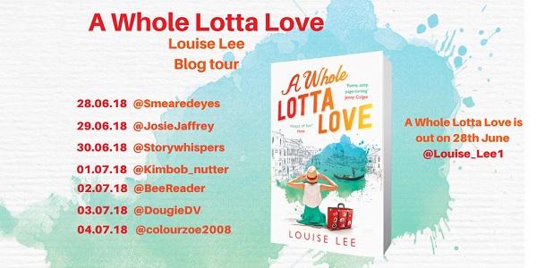 A Whole Lotta Love Blog Tour Poster