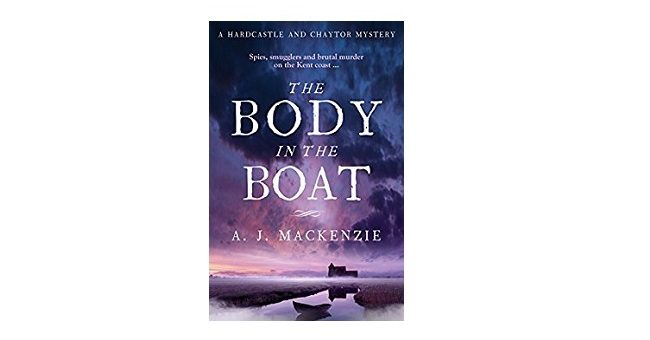Feature Image - The Body in the Boat by AJ MacKenzie