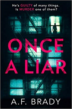 Once a Liar by A F Brady