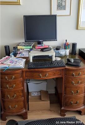 Jane Risdon working space
