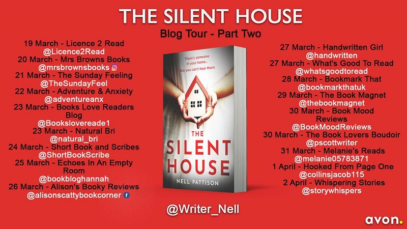 The Silent House Blog Tour Poster