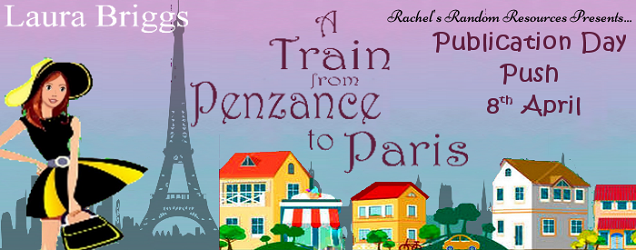 A Train From Penzance to Paris Writing a Romance Book Where the Couple is Miles Apart