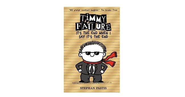 Feature Image - Timmy Failure part 7 by stephen Pastis