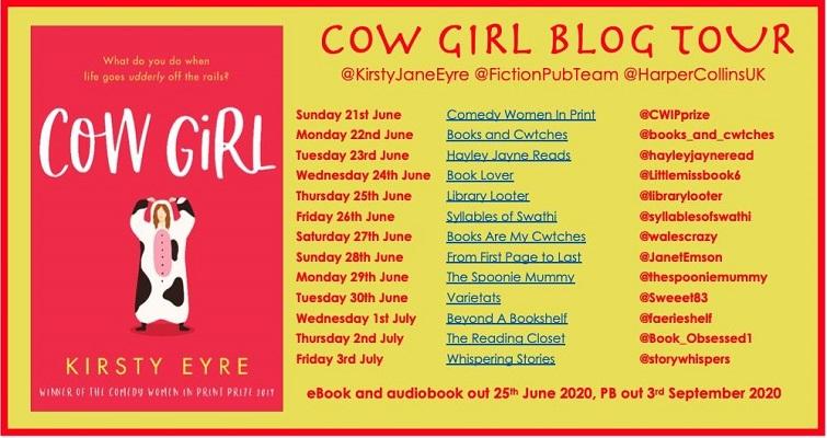 Cow Girl Blog Tour Poster