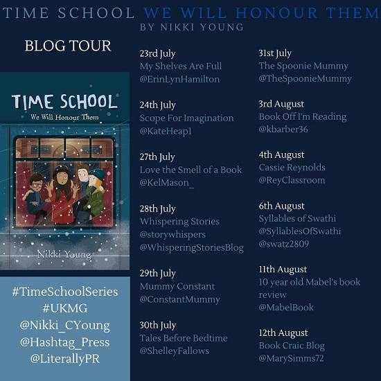 TIME SCHOOL 2 Blog Tour Poster