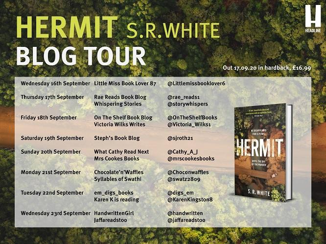 Hermit Blog Tour Poster