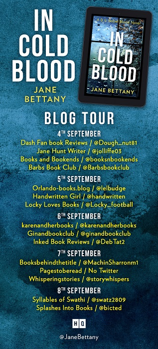 In Cold Blood Blog Tour Banner