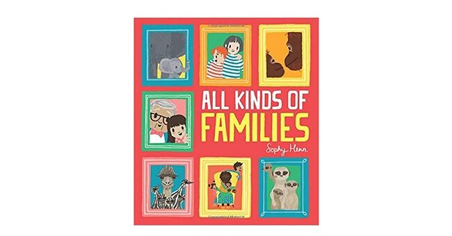 Feature Image - All Kinds of Families by Sophy Henn