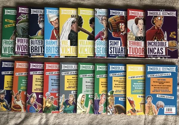 Horrible Histories Box Set 5