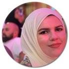 Yousra S Imran Hijab and Red Lipstick