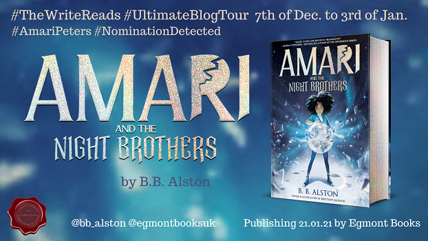 Amari and the night brothers tour poster