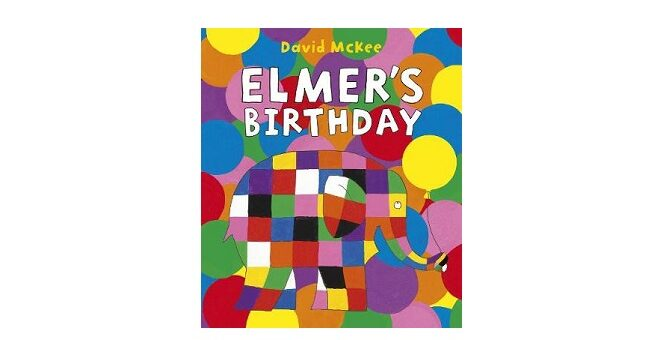 Feature Image - Elmers Birthday by David McKee