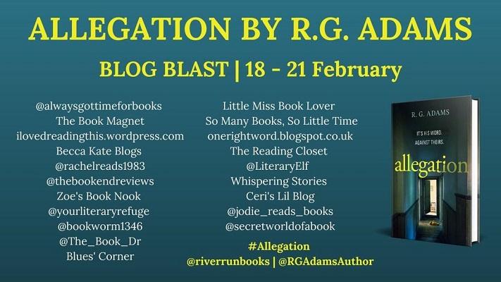 Allegation Blog Blast poster