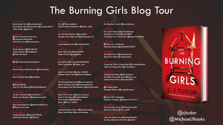 The Burning Girls Tour Poster