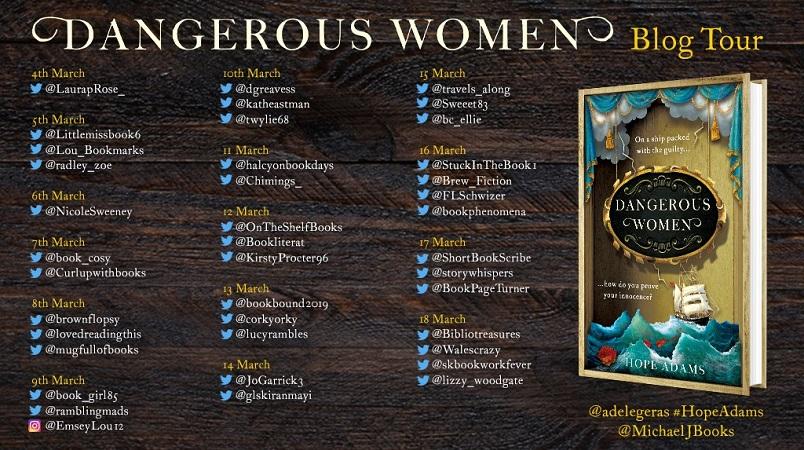 Dangerous Women Blog Tour Poster