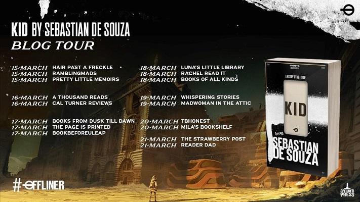 Kid by Sebastian de Souza tour poster