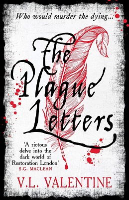 The Plague Letters by V.L. Valentine