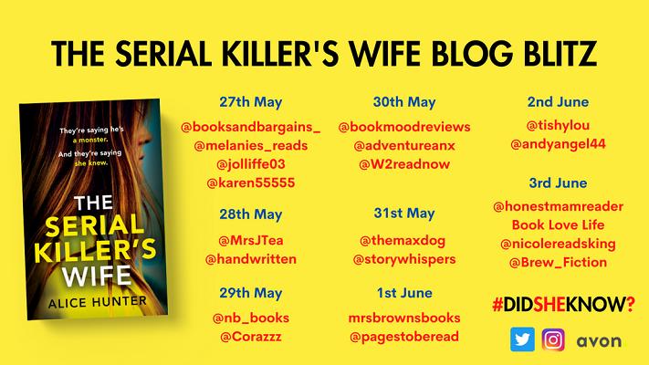 The Serial Killer's Wife - Blog Blitz - Twitter