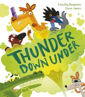 Thunder Down Under by Timothy Knapman
