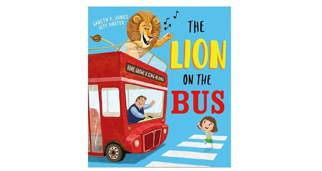 Feature Image - The Lion on the Bus by Gareth P. Jones
