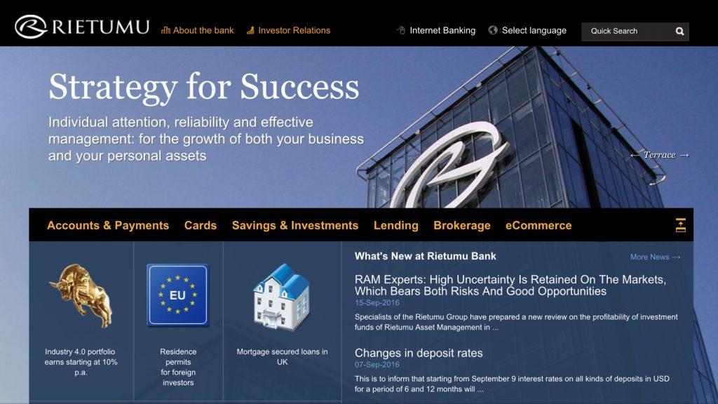 エコペイズ中継銀行のホームページ写真