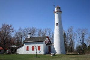 Lighthouse - Sturgeon Point, Michigan