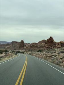 Monument Valley road 1