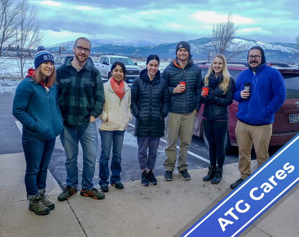 ATG Cares: ATGers Volunteer with Goodfellows Club, Give Back to Missoula Community