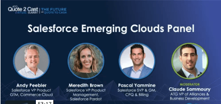 Salesforce Emerging Clouds Panel