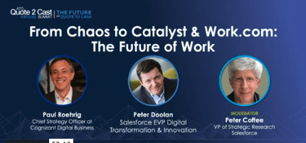 From Chaos to Catalyst & Work.com: The Future of Work
