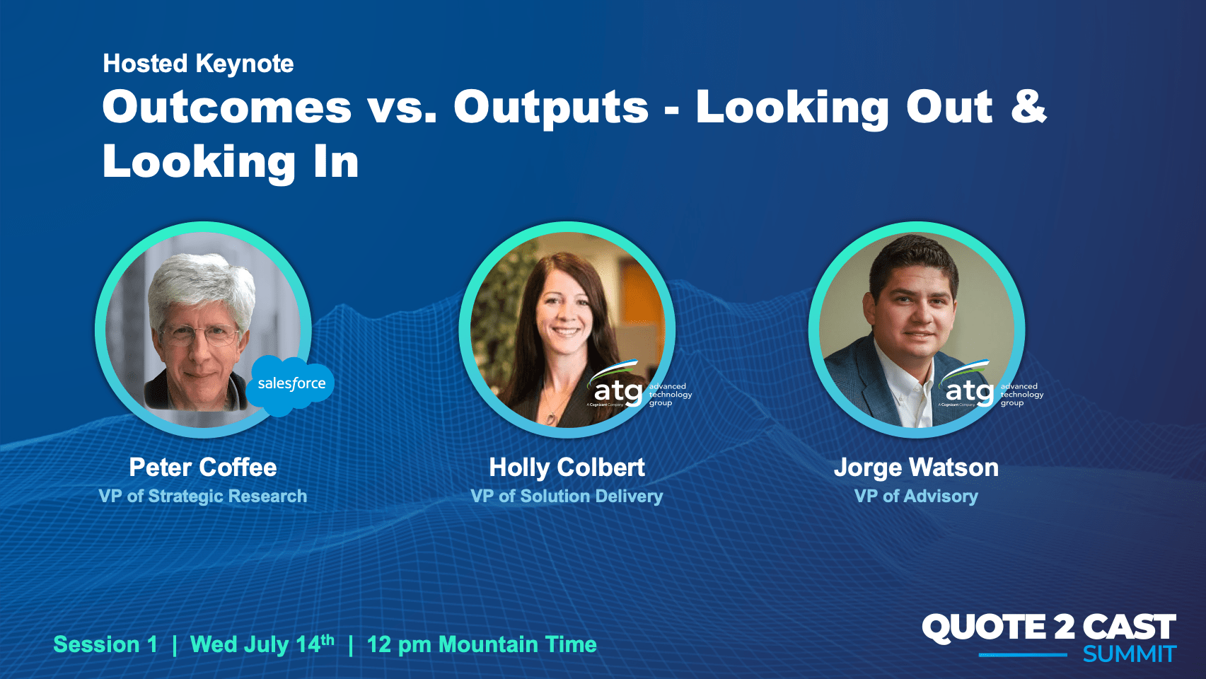 Q2Cast 2021: Outcomes vs. Outputs – Looking Out & Looking In