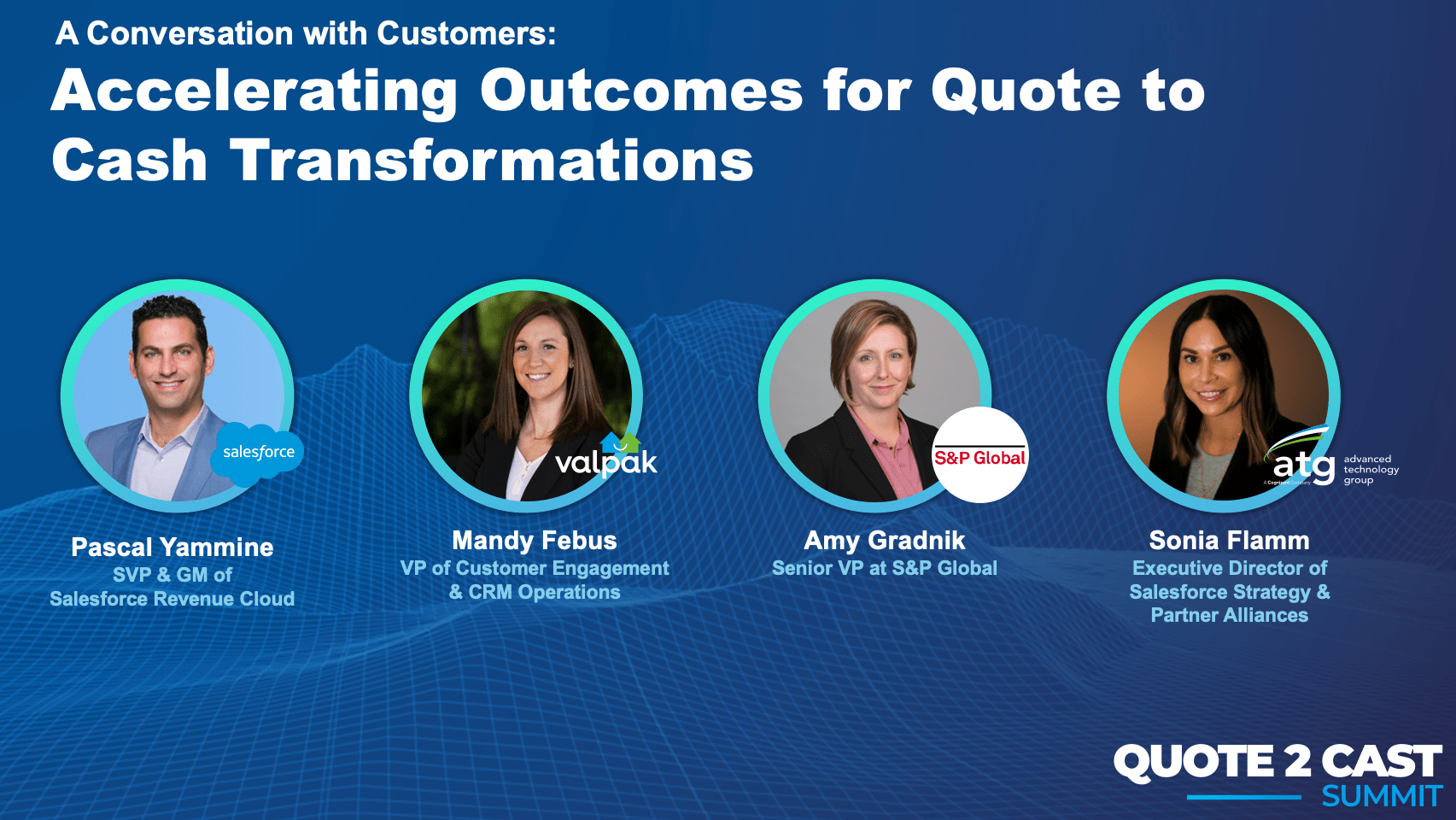 Q2Cast 2021: Accelerating Outcomes for Transformations