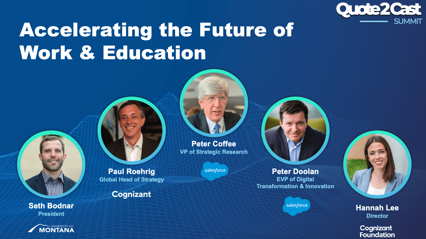 Q2Cast 2021: Accelerating the Future of Work & Education