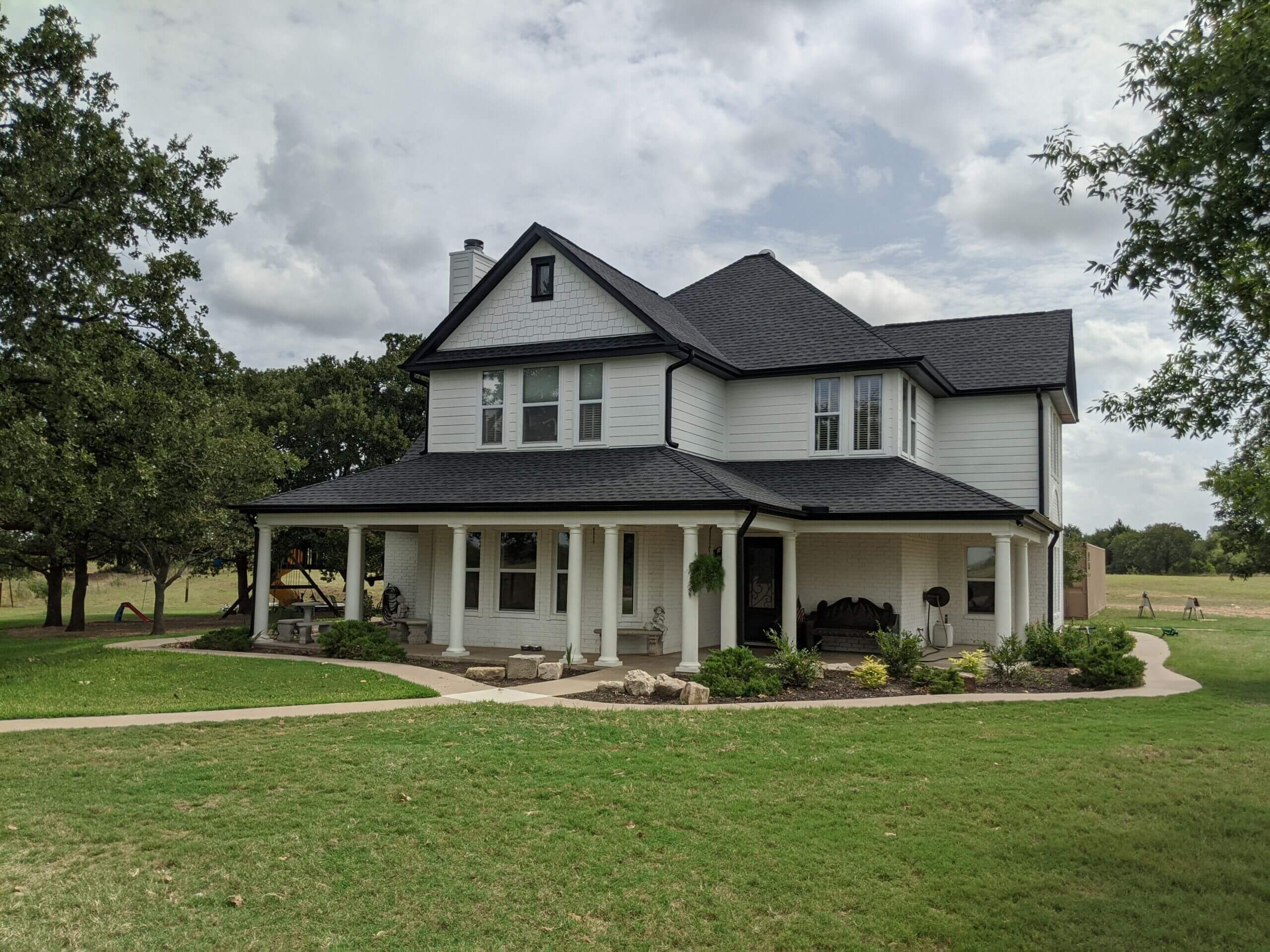 Home Exterior Paint Project