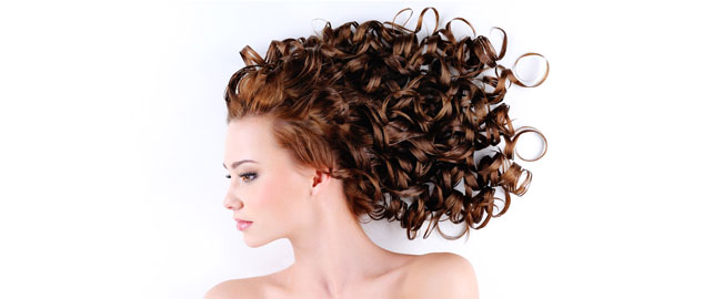 Style your hair with hot rollers