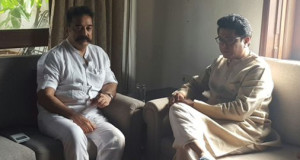 Kamal Haasan denies any political agenda behind his meeting with Raj Thackeray
