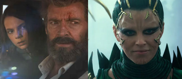 Its Superhero Time: Logan and Power Rangers Trailer is here!